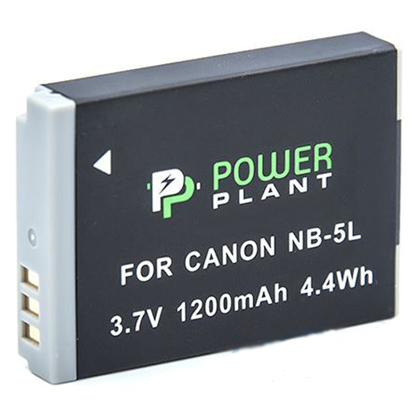 Аккумулятор PowerPlant Canon NB-5L 1200mAh DV00DV1160