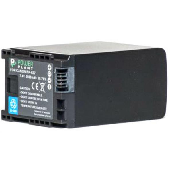 Аккумулятор PowerPlant Canon BP-827 Chip 2800mAh DV00DV1262