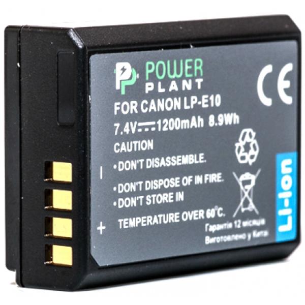 Аккумулятор PowerPlant Canon LP-E10 1200mAh DV00DV1304