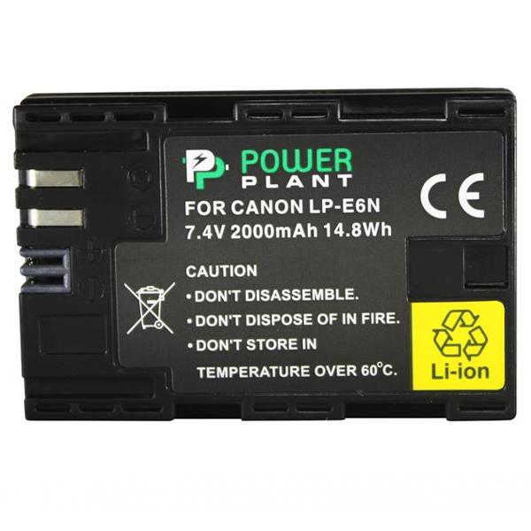 Аккумулятор PowerPlant Canon LP-E6N 2000mAh DV00DV1405