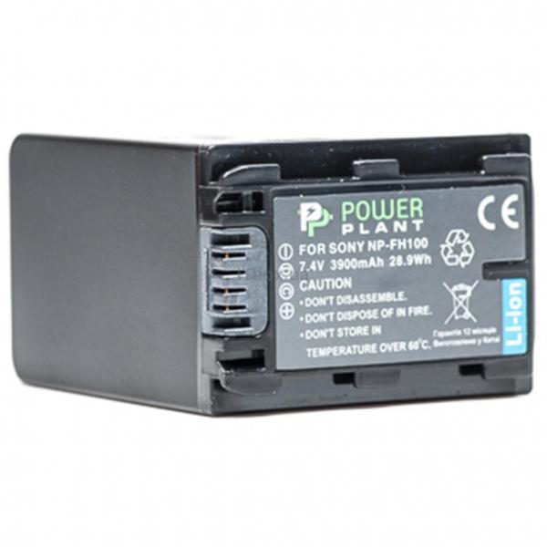 Aккумулятор PowerPlant Sony NP-FH100 3900mAh DV00DV1205