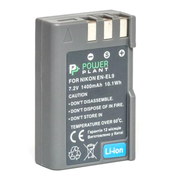 Аккумулятор PowerPlant Nikon EN-EL9 1400mAh DV00DV1173