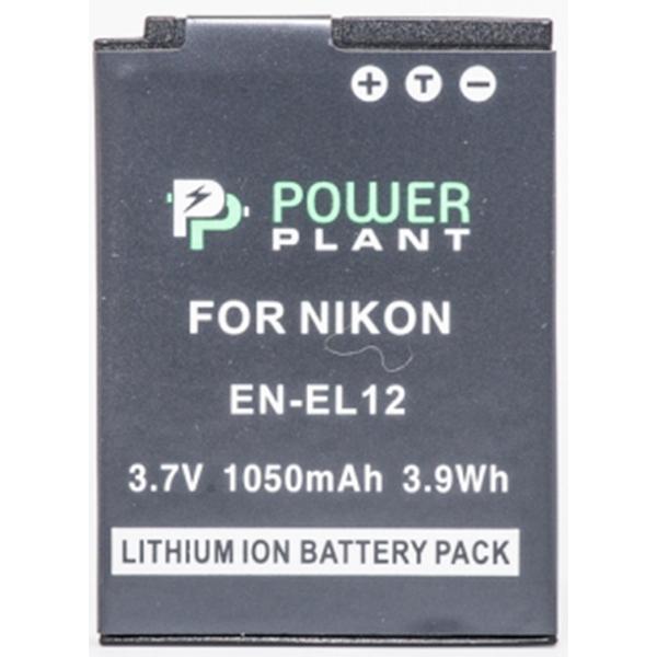 Аккумулятор PowerPlant Nikon EN-EL12 1050mAh DV00DV1242