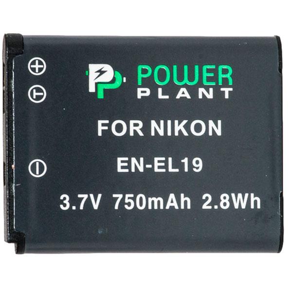 Аккумулятор PowerPlant Nikon EN-EL19 750mAh DV00DV1305
