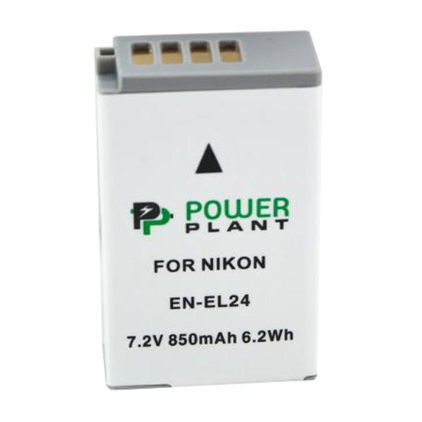 Аккумулятор PowerPlant Nikon EN-EL24 850mAh DV00DV1407