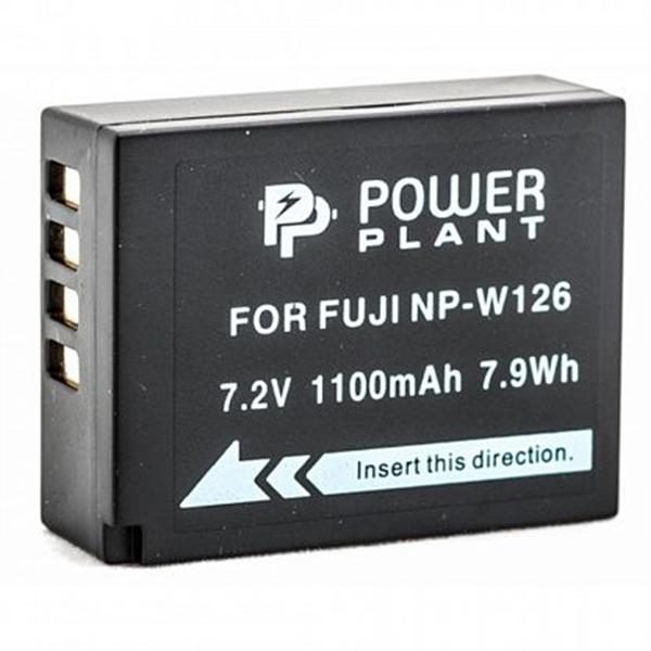 Аккумулятор PowerPlant Fuji NP-W126 1110mAh DV00DV1316