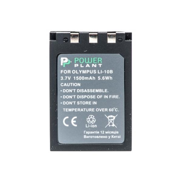 Аккумулятор PowerPlant Olympus Li-10B/Li-12B 1500mAh DV00DV1056