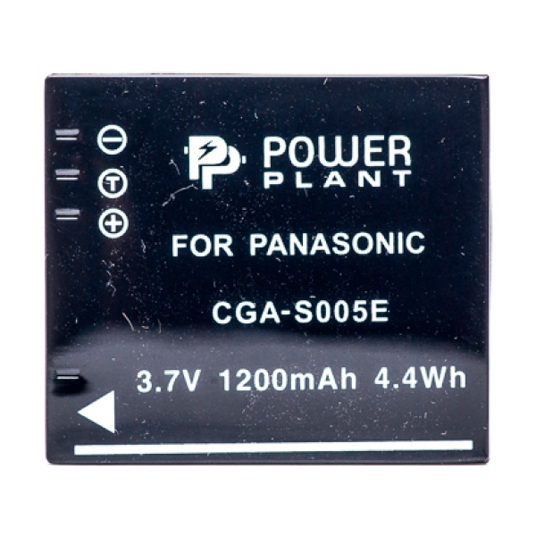 Аккумулятор PowerPlant Panasonic S005E/NP-70 1200mAh DV00DV1099