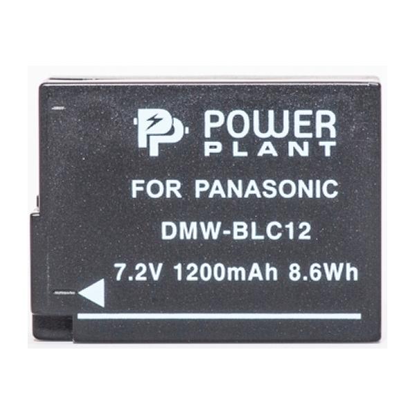 Аккумулятор PowerPlant Panasonic DMW-BLC12/DMW-GH2 1200mAh DV00DV1297