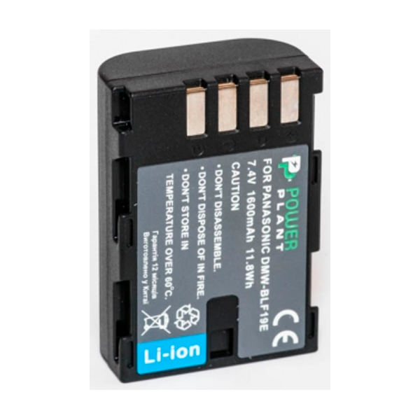 Аккумулятор PowerPlant Panasonic DMW-BLF19 1600mAh DV00DV1355