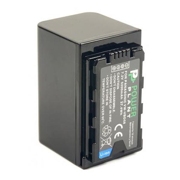 Аккумулятор PowerPlant Panasonic VW-VBD58 5200mAh CB970087