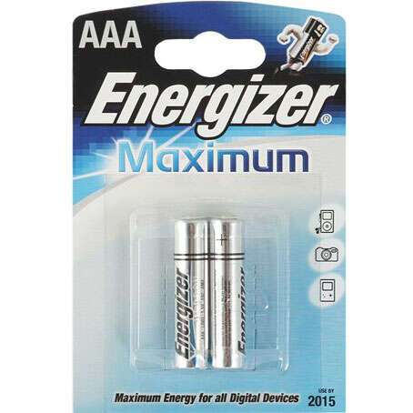 Батарейки Energizer Maximum AAA FSB2