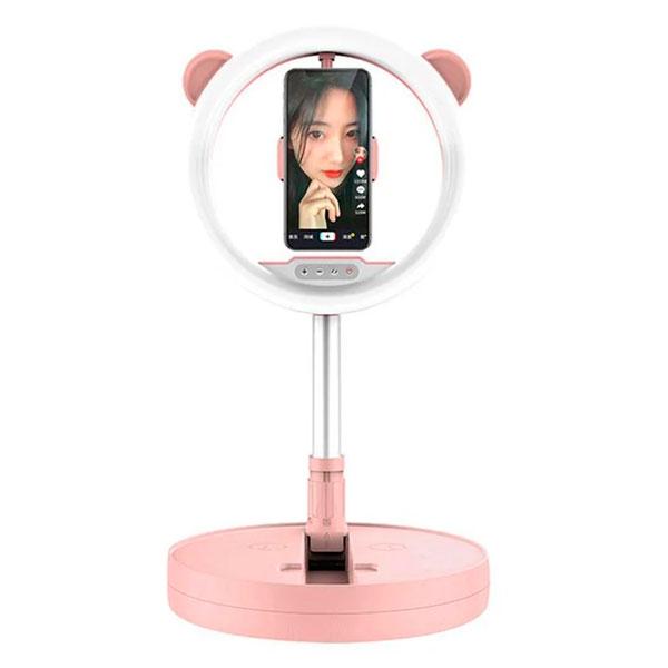 Кольцевая лампа Mai Appearance G2 розовая