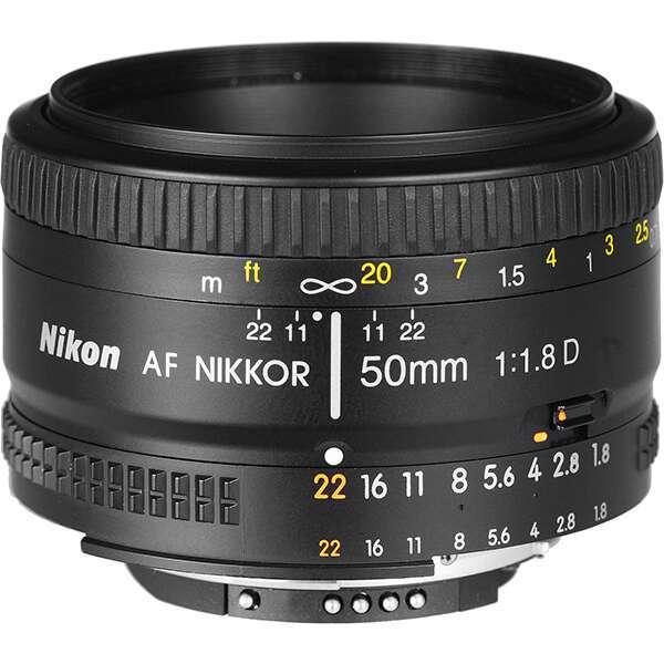 Фото-объектив Nikon AF NIKKOR 50mm f/1.8D(G