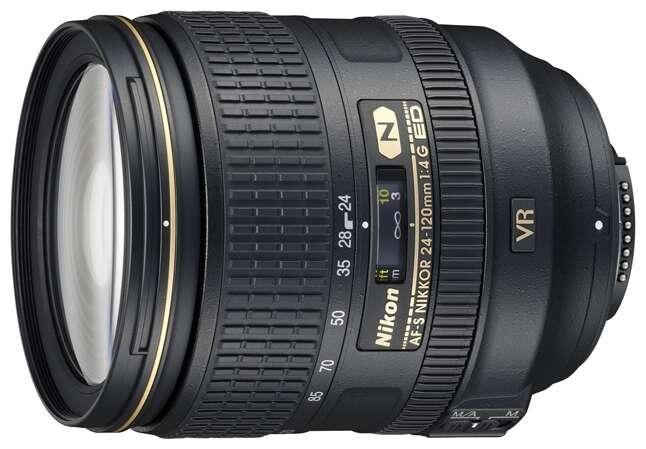 Фото-объектив Nikon AF-S NIKKOR 24-120mm f/4G ED VR