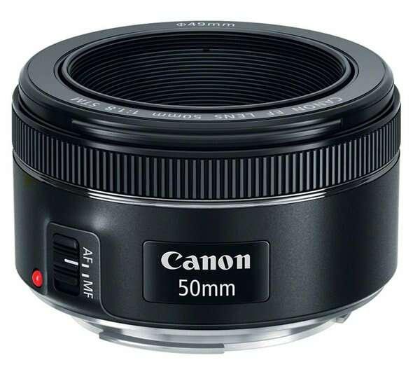 Фото объектив Canon EF 50mm f/1.8 STM