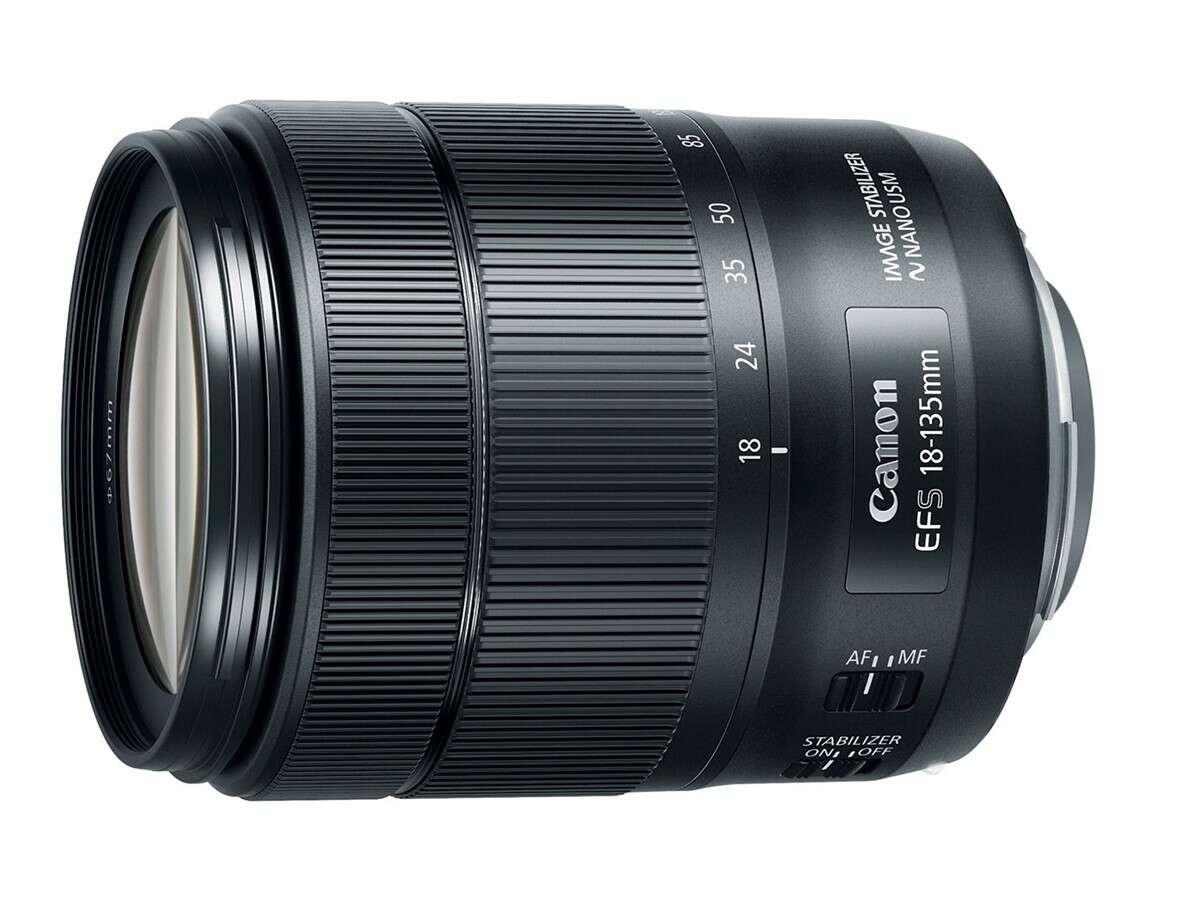 Фото объектив Canon EF-S 18-135 IS nano USM