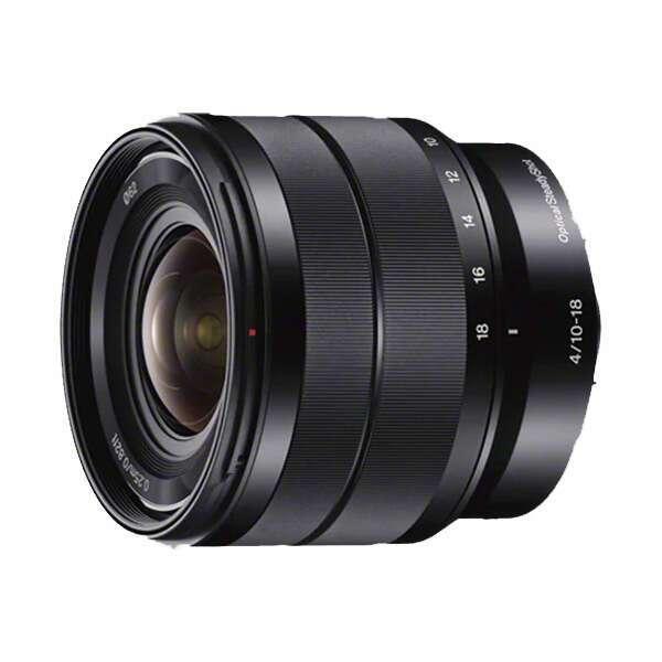 Сверхширокоугольный E-mount объектив Sony E 10-18 мм f/4.0 OSS SEL1018.AE