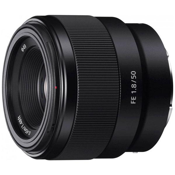 Объектив Sony FE-mount FE 50 f/1.8 F (SEL50F18F.SYX)