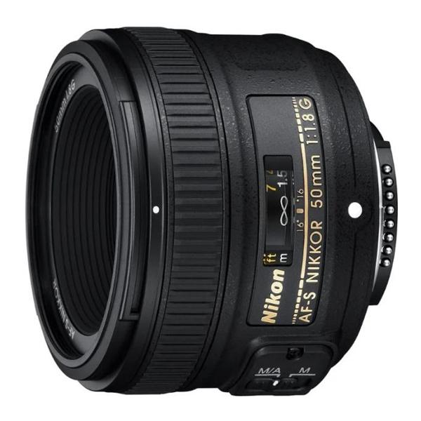 Фото объектив Nikon 50mm f/1.8G AF-S Nikkor
