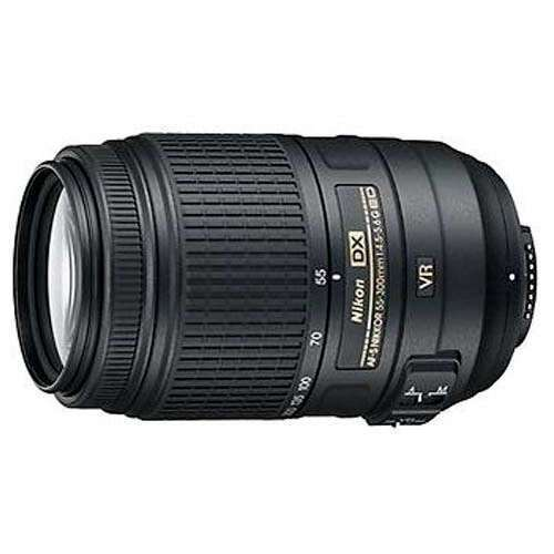 Объектив NIKON AF-S DX NIKKOR 55-300mm f 4.5-5.6G ED VR