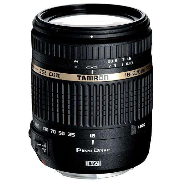 Объектив TAMRON 18-270мм F3.5-6.3 Di II (со стабилизатором) PZD для Canon