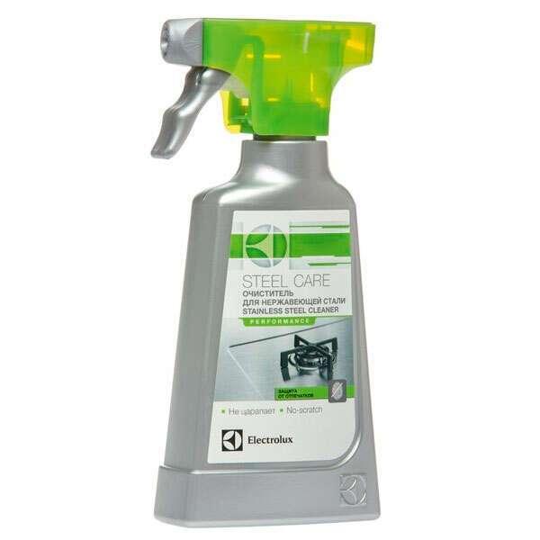 Чистящее средство для поверхностей из нерж.стали (спрей) Electrolux E6SCS104