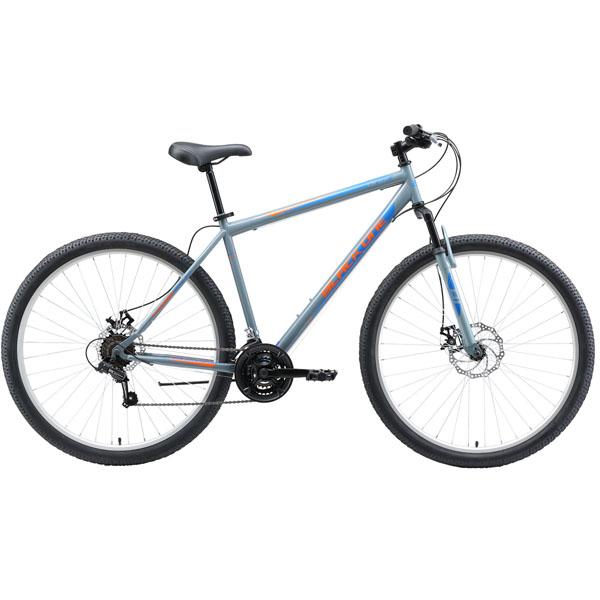 """Велосипед Black One Onix 29 D серый/оранжевый/голубой 20"""""""