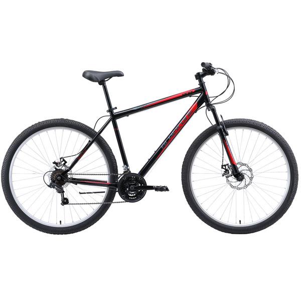 """Велосипед Black One Onix 29 D чёрный/красный/серый 20"""""""
