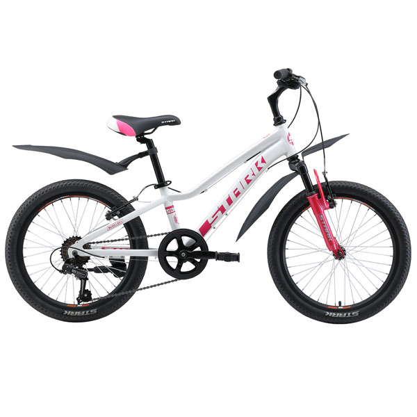 Велосипед Stark 19 Bliss 20.1 V (Белый/розовый)