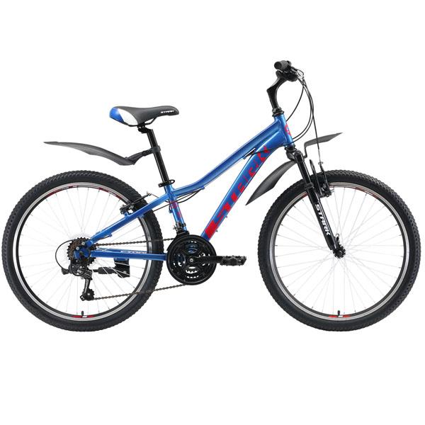 Велосипед Stark 19 Bliss 24.1 V (Синий)