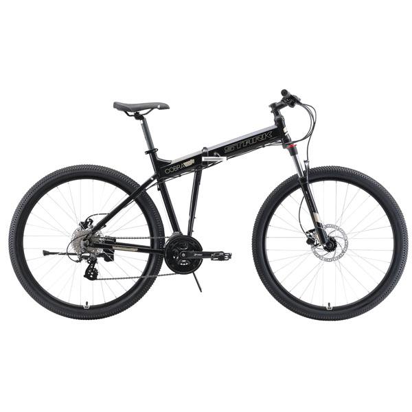 """Велосипед Stark 19 Cobra 29.3 HD 20"""" (Черный)"""