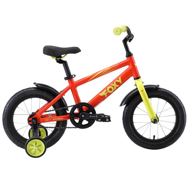 Велосипед Stark 19 Foxy 14 (Оранжевый)