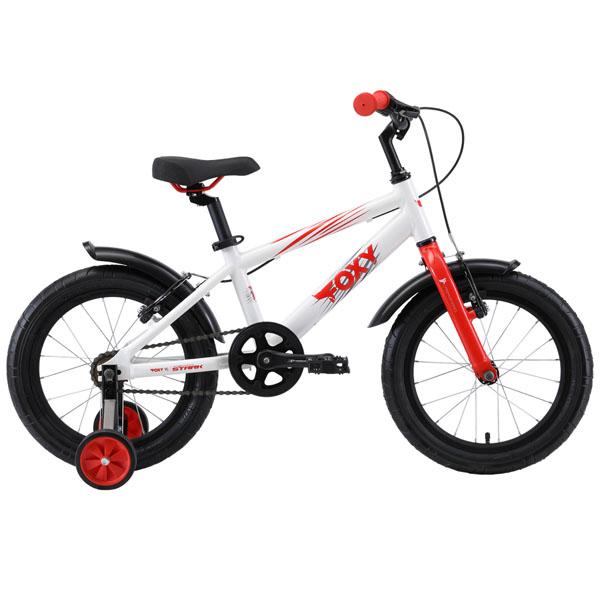 Велосипед Stark 19 Foxy 16 (Белый)