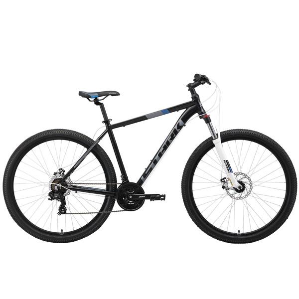 """Велосипед Stark 19 Hunter 29.2 D чёрный/серый/синий 22"""""""