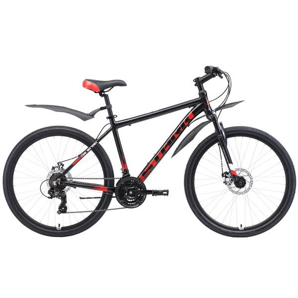 """Велосипед Stark 19 Indy 26.1 D 18"""" (Черный)"""