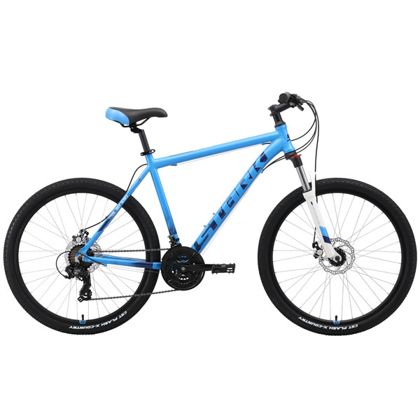 "Велосипед Stark 19 Indy 26.2 D 20"" (Голубой)"