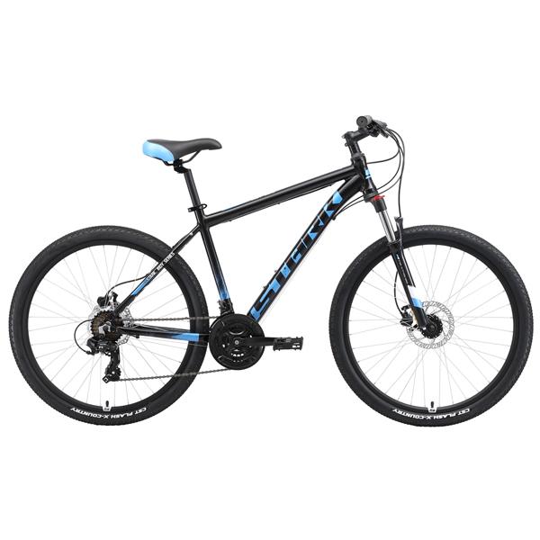 """Велосипед Stark 19 Indy 26.2 HD 18"""" (Черный/голубой)"""