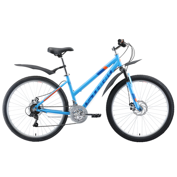 """Велосипед Stark 19 Luna 26.1 D 18"""" (Голубой)"""