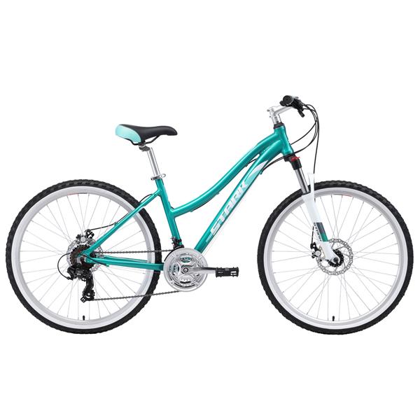 """Велосипед Stark 19 Luna 26.2 D 16"""" (Бирюзовый)"""