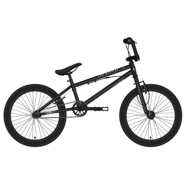Велосипед Stark 19 Madness BMX 1 (Чёрный/серебристый)
