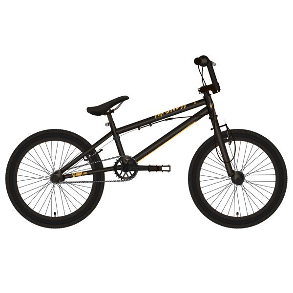 Велосипед Stark 19 Madness BMX 2 (Чёрный/золотой)