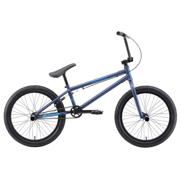 Велосипед Stark 19 Madness BMX 4 (Cиний/голубой)