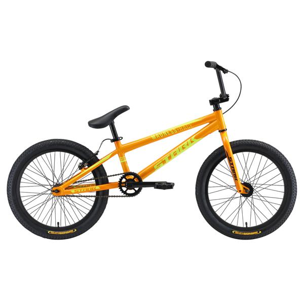 Велосипед Stark 19 Madness BMX Race (Оранжевый/жёлтый)