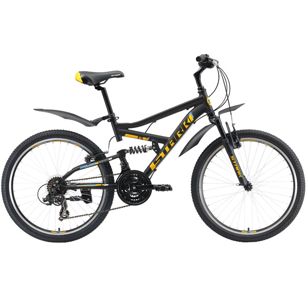 Велосипед Stark 19 Rocket 24.2 FS V (Чёрный)
