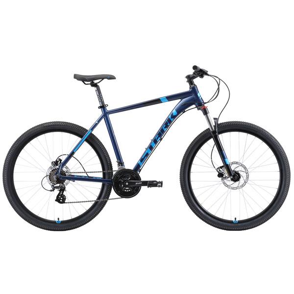 "Велосипед Stark 19 Router 27.3 HD (Голубой) 22"""