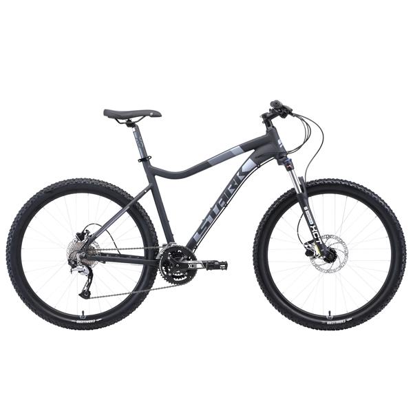 """Велосипед Stark 19 Tactic 27.5 HD 20"""" (Чёрный/серый)"""