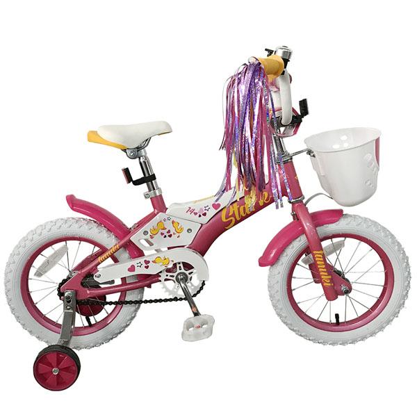 Велосипед Stark 19 Tanuki 14 Girl (Розовый)