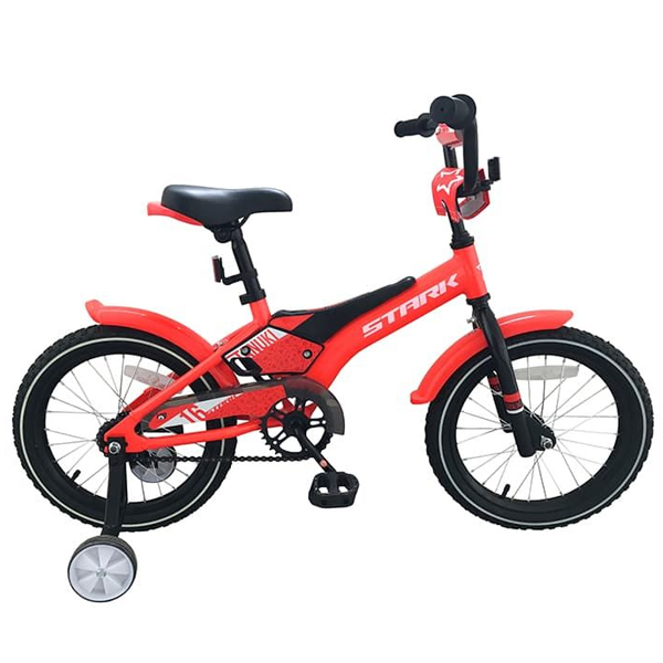 Велосипед Stark 19 Tanuki 16 Boy красный/чёрный/белый