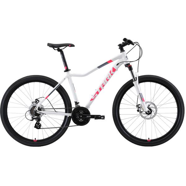 """Велосипед Stark 19 Viva 27.3 D 18"""" (Белый/розовый)"""
